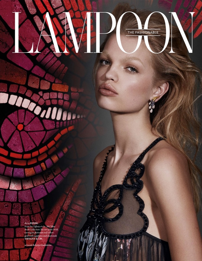 Daphne Groeneveld on The Fashionable Lampoon Issue #9 Cover