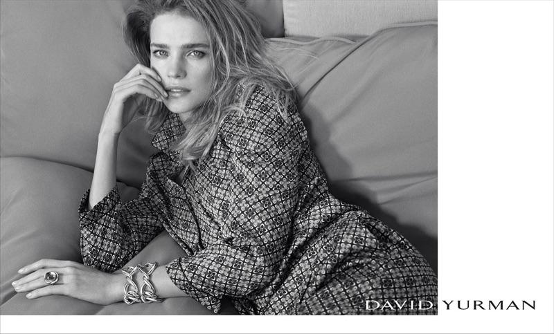 Natalia Vodianova appears in David Yurman's spring-summer 2017 campaign