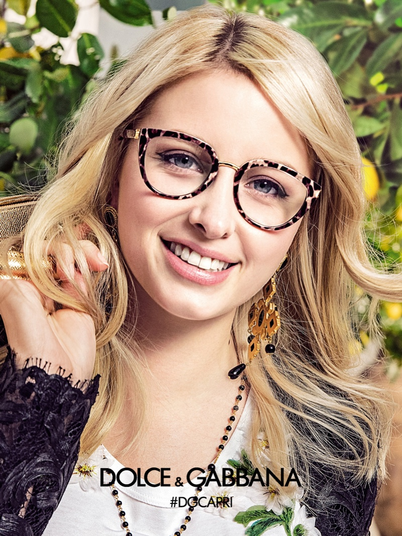 Dolce & Gabbana Eyewear 2017 Spring / Summer Campaign