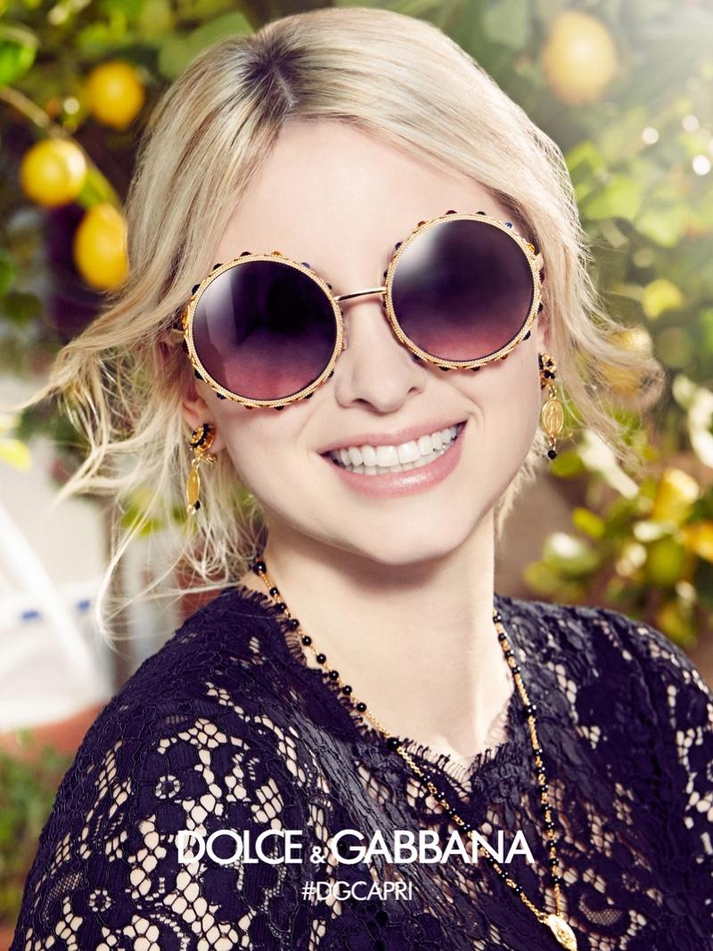 594e37d0970e ... The Mambo motif takes the spotlight in Dolce & Gabbana Eyewear's spring  2017 campaign