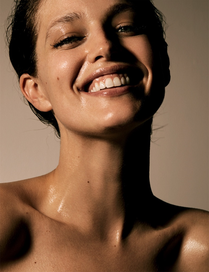 Emily DiDonato flashes a smile in this beauty shot
