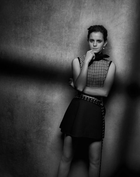Emma Watson Stars in Interview Magazine, Reveals What She Does for Fun
