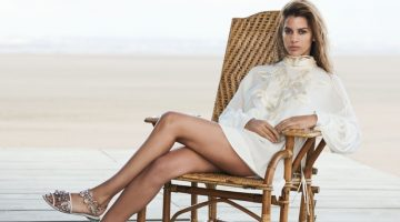 Kenya Kinski Jones is a Vision in Ermanno Scervino's Spring 2017 Campaign