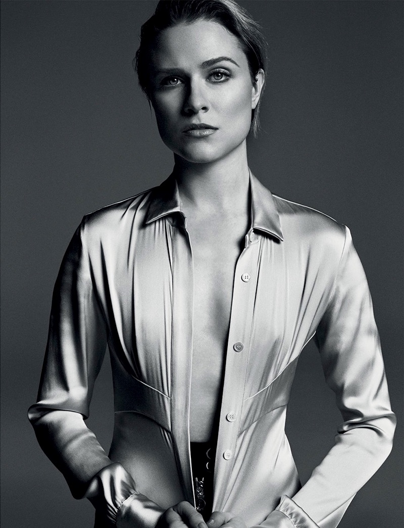 Evan Rachel Wood Exit Magazine Spring/Summer 2017 Photoshoot Evan Rachel Wood