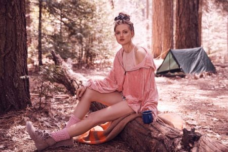Lindsey Wixson Heads Outdoors in Free People's New Collection