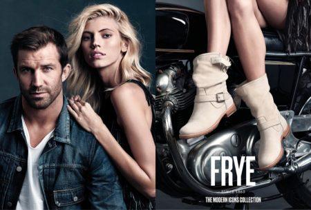 Devon Windsor Models Sleek Boots in FRYE's Spring 2017 Campaign