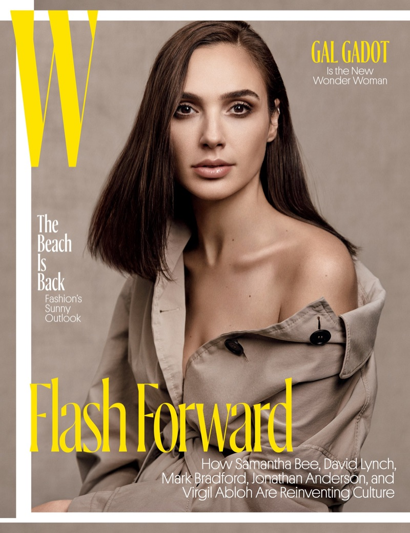 Gal Gadot on W Magazine May 2017 Cover