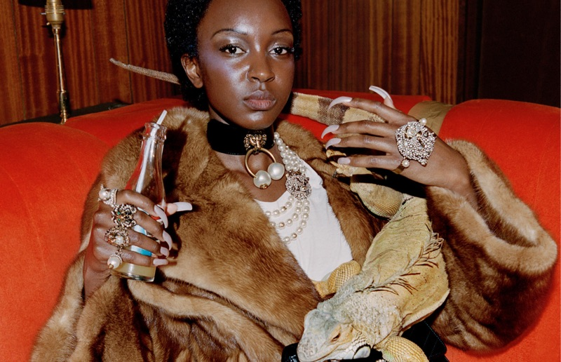 Gucci focuses on fur for pre-fall 2017 campaign