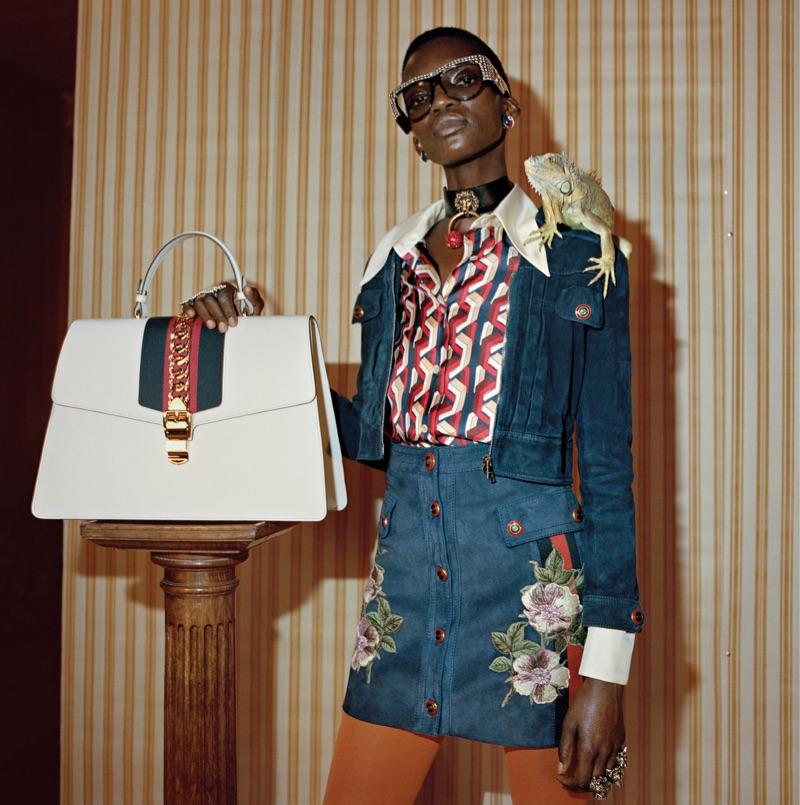 Glen Luchford photographs Gucci's pre-fall 2017 advertising campaign