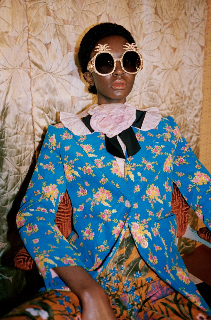 An image from Gucci's pre-fall 2017 campaign