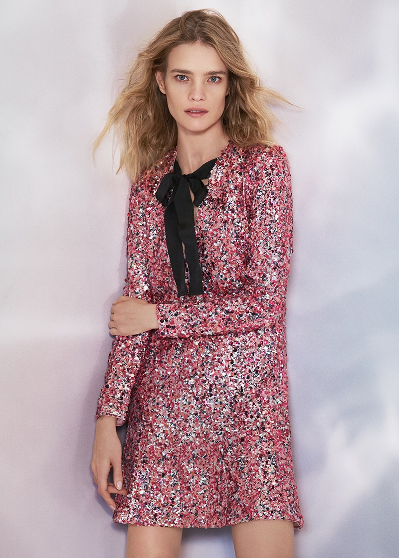 H&M Conscious Exclusive Sequined Dress $249
