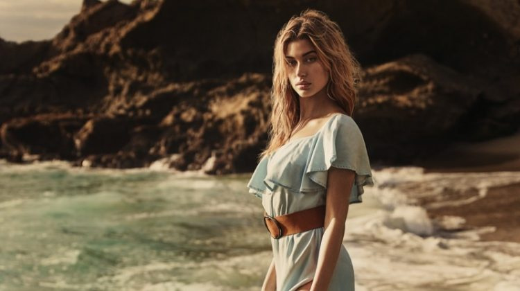 Hailey Baldwin is a California Girl in GUESS' Spring 2017 Campaign