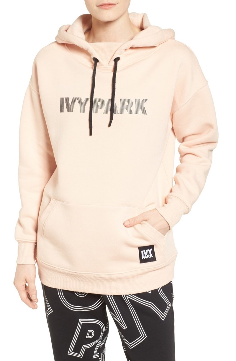 Ivy Park Silicone Logo Hoodie $65