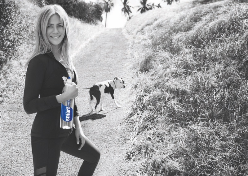 Jennifer Aniston stars in Smartwater 2017 advertising campaign