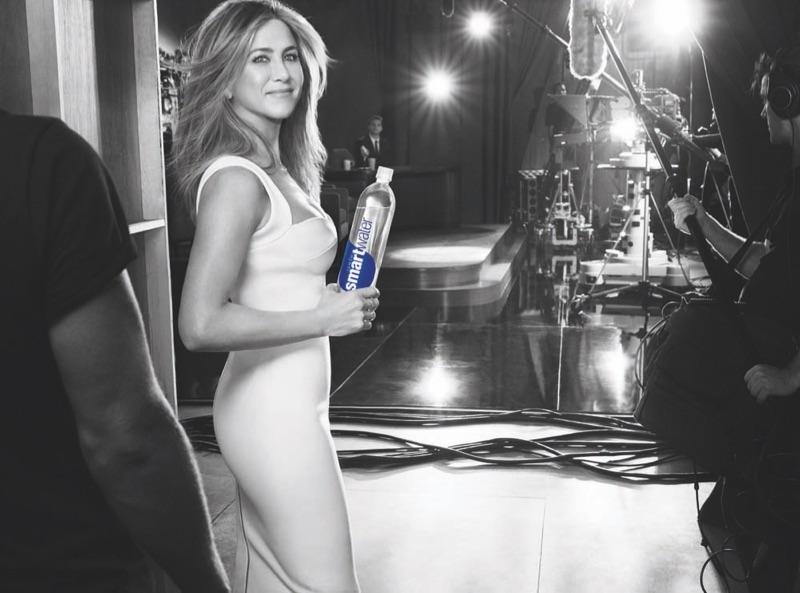 Jennifer Aniston Takes the Spotlight in Smartwater Campaign