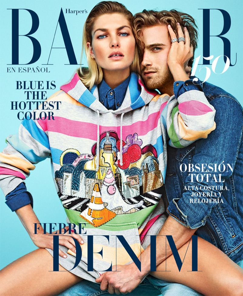 Jessica Hart on Harper's Bazaar Mexico May 2017 Cover