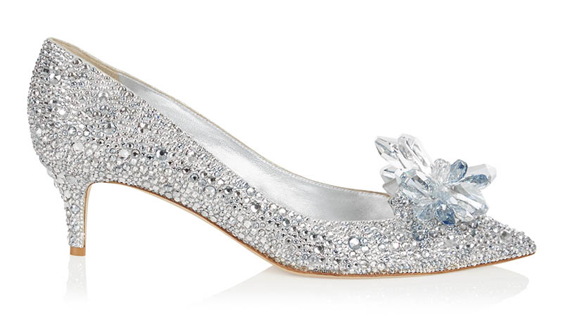 Jimmy Choo Allure Crystal Covered Pointy Toe Pumps $4,595