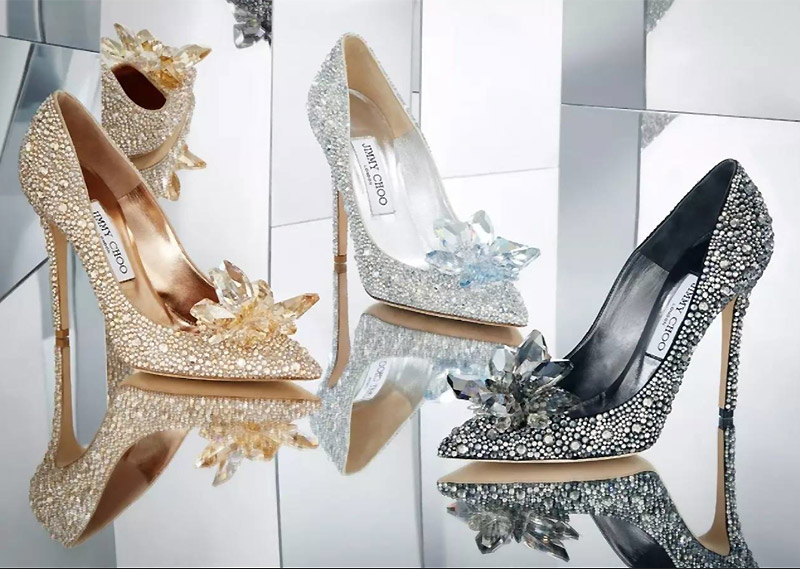 All That Glitters: Jimmy Choo Unveils 'Cinderella' Styles