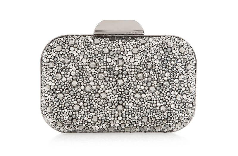 Jimmy Choo Cloud Black Crystal Covered Clutch Bag $3,095