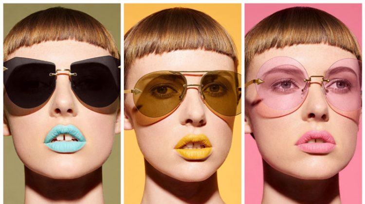All Shade: See Karen Walker's Colorful EYESHADOW Sunglasses