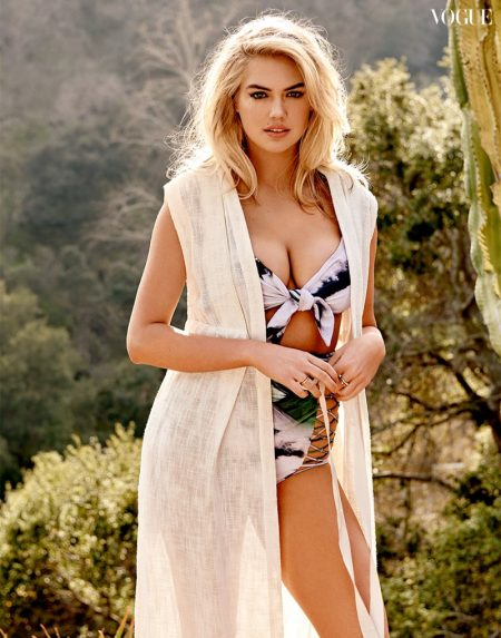 Kate Upton Embraces Sunny Style for Vogue Thailand Cover Shoot