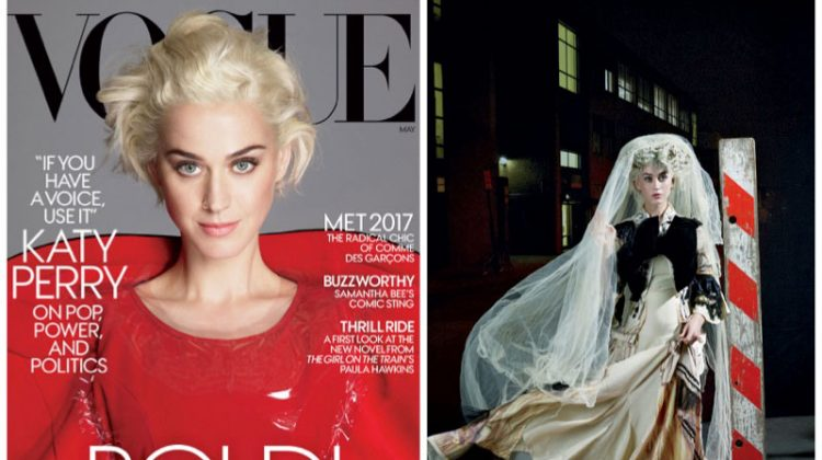 Katy Perry Gets Avant Garde in Comme des Garçons for Vogue Cover Story