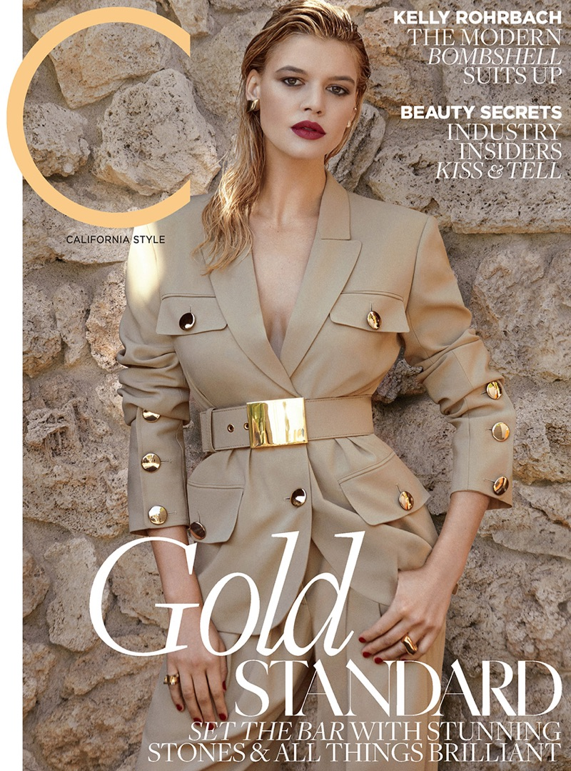 Kelly Rohrbach on C Magazine May 2017 Cover