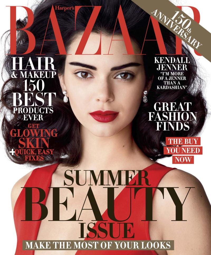 Kendall Jenner on Harper's Bazaar May 2017 Cover