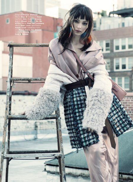 Luma Grothe Models the 'New Romantic' in Harper's Bazaar Thailand