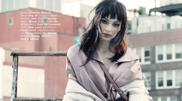 Luma Grothe Models the 'New Romantic' in Harper's Bazaar Thailand