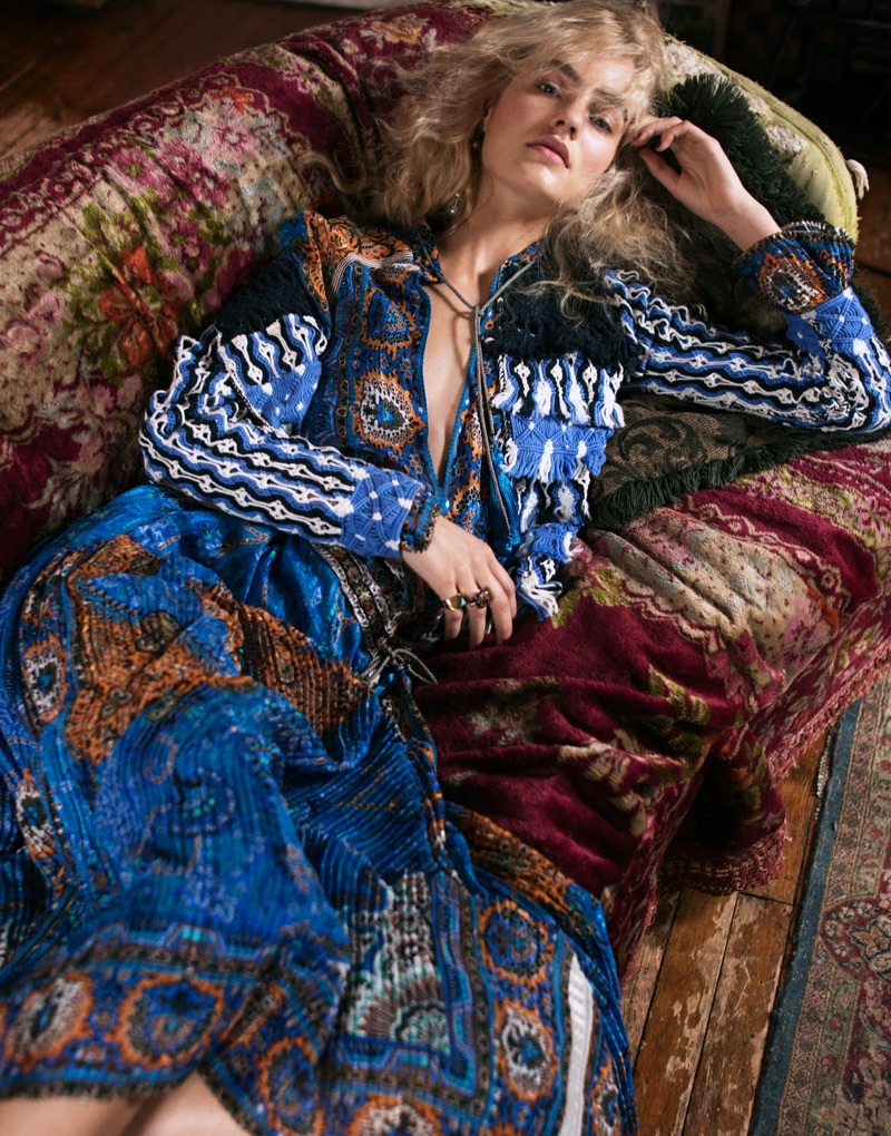 Maartje Verhoef is a Bohemian Vision in The Edit