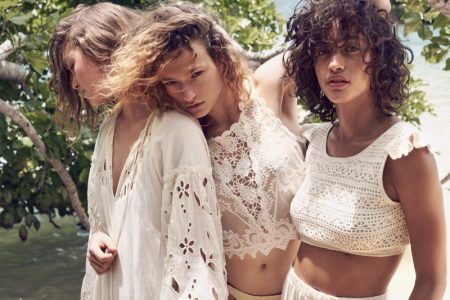 Arizona, Sophia & Alanna Give Island Vibes in Mango's Summer Campaign