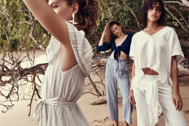 An image from Mango's Summer 2017 campaign