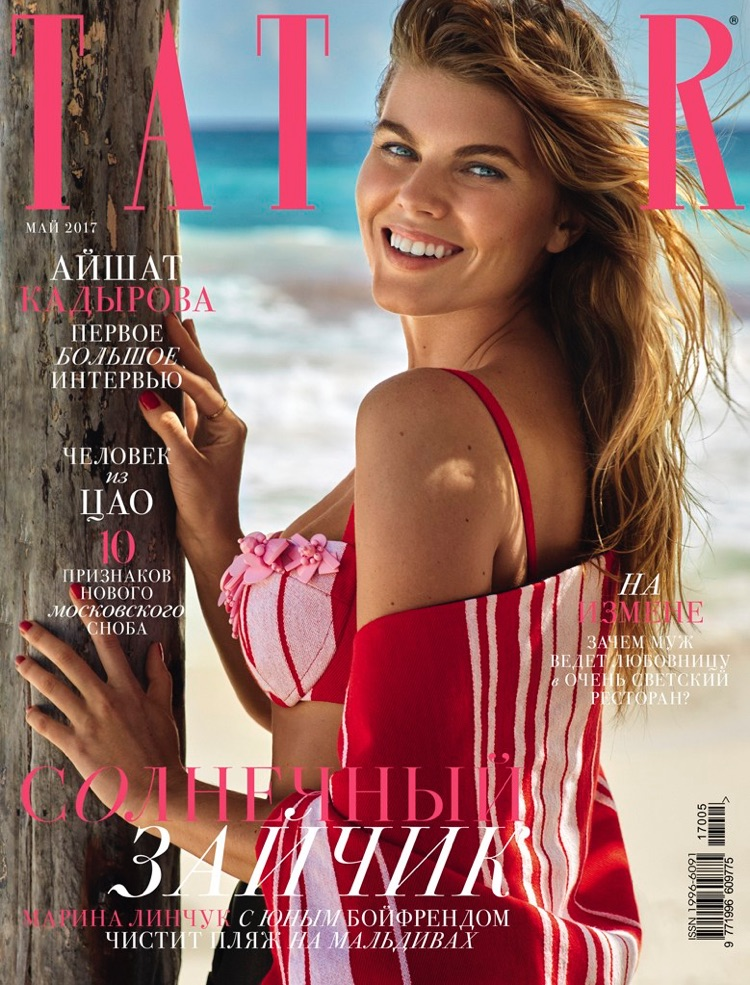 Maryna Linchuk on Tatler Russia May 2017 Cover