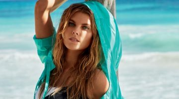 Maryna Linchuk Heats Up Swim Season for Tatler Russia