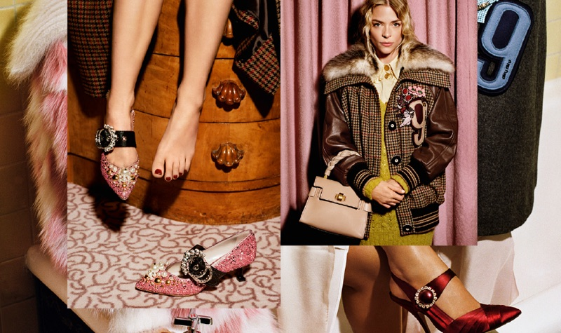 Jaime King Stars in Miu Miu's Pre-Fall 2017 Campaign
