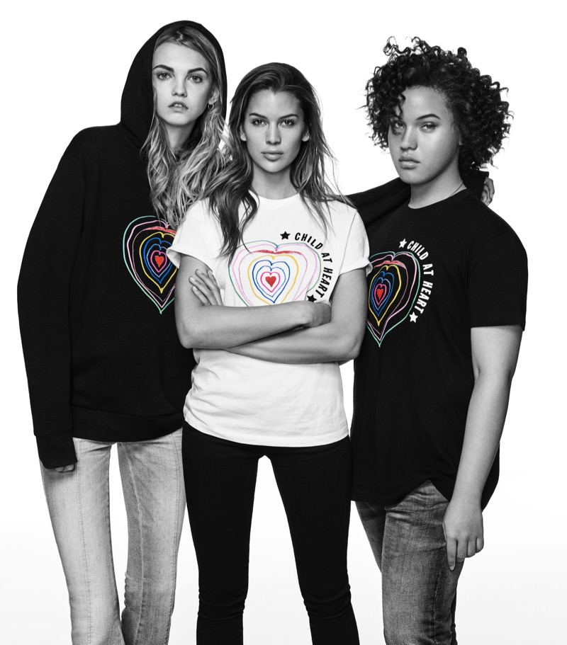 An image from Diesel x Naomi Campbell's Child at Heart campaign