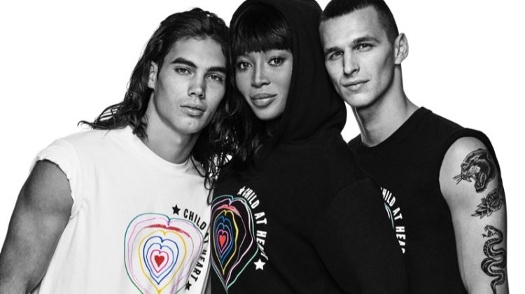 Naomi Campbell rocks a hoodie from Diesel's Child at Heart collection