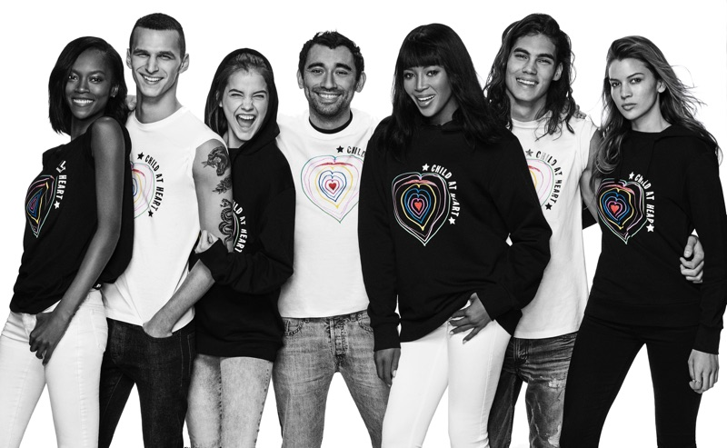 The Fashion For Relief x Diesel collection features hoodies, t-shirts and tanks