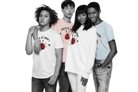 Naomi Campbell Teams Up with Diesel for a Good Cause