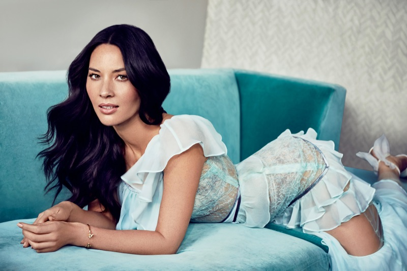 Olivia Munn Poses in Colorful Fashions for Cosmopolitan Mexico