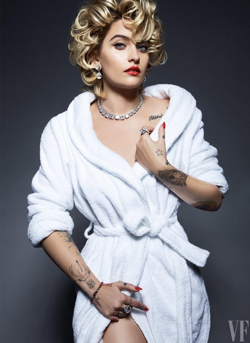Paris Jackson Takes the Spotlight for Vanity Fair Spread