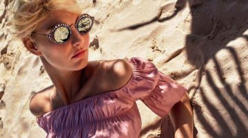 Patricia van der Vliet Looks Pretty in Pink for ELLE Italy