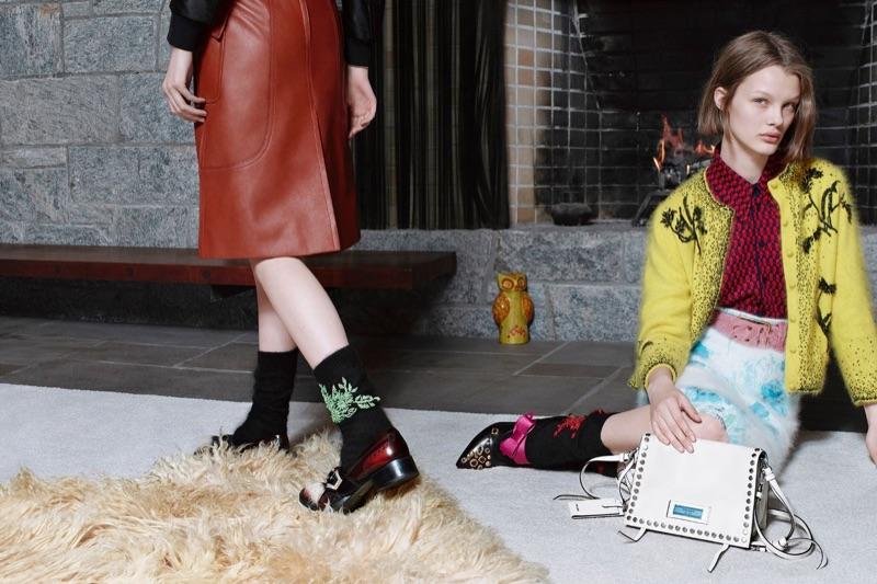 Prada Debuts Pre-Fall 2017 'Encounters' Campaign