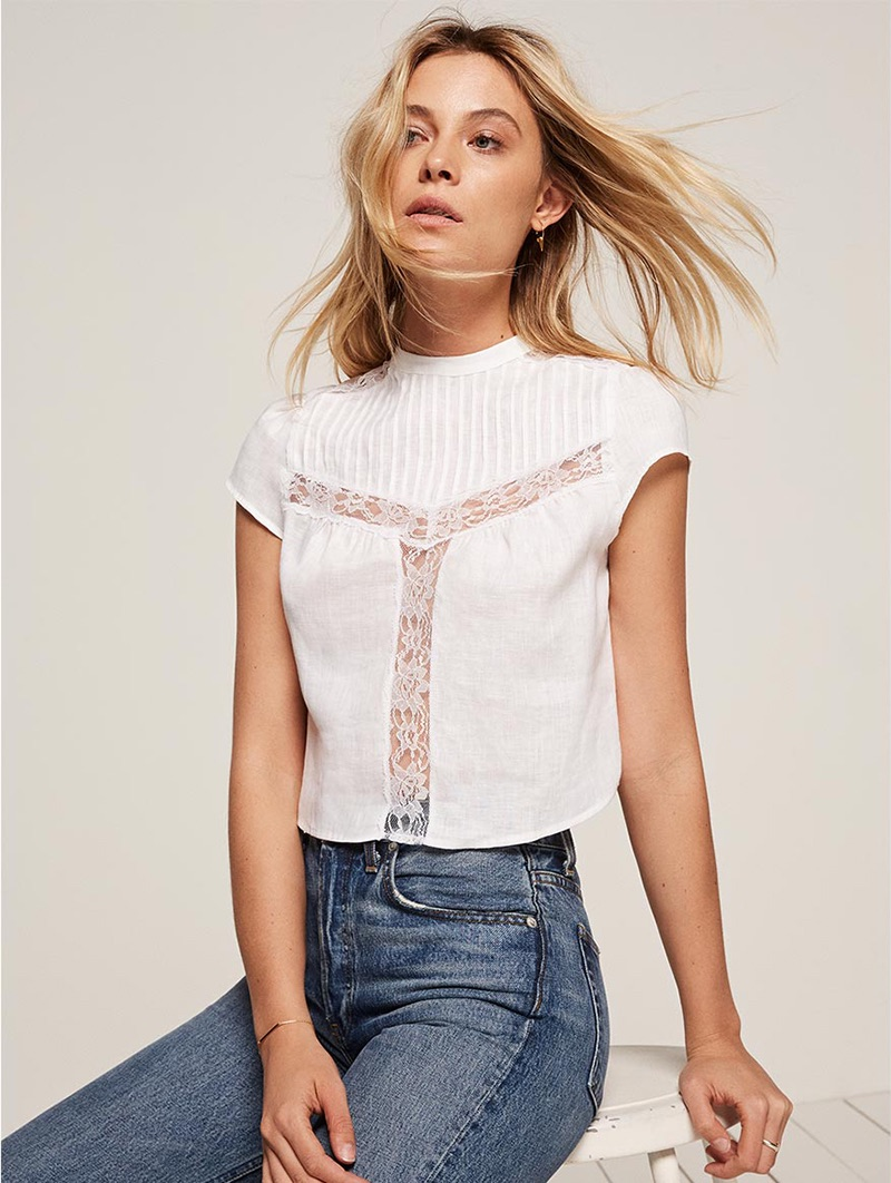 Wish List: Reformation's Lace Top Perfect for Sunny Weather