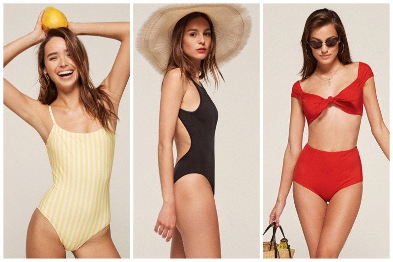 Reformation Launches Swimsuits – Check Out the Retro Inspired Styles!