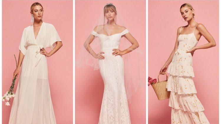 Reformation's summer 2017 wedding dress collection
