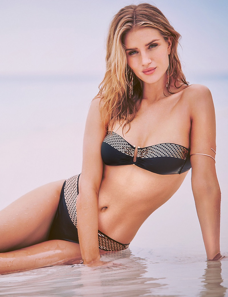 Rosie Huntington-Whiteley Teams Up with Autograph for One Hot Swimwear Collection