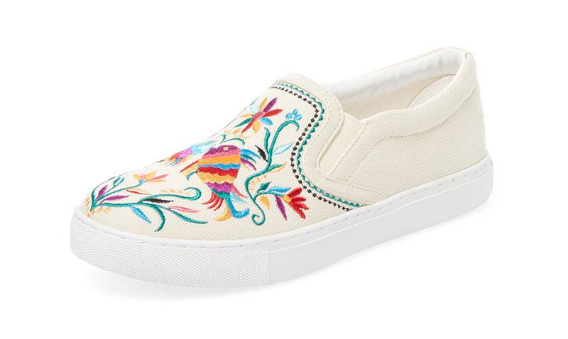 Sam Edelman Embroidered Slip-On Sneaker $70