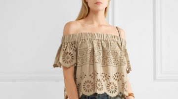 Wish List: Sea's Bohemian Chic Off-the-Shoulder Top